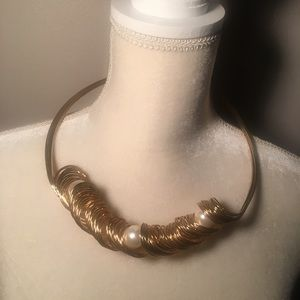 4 for $12: Funky Gold Tone Necklace